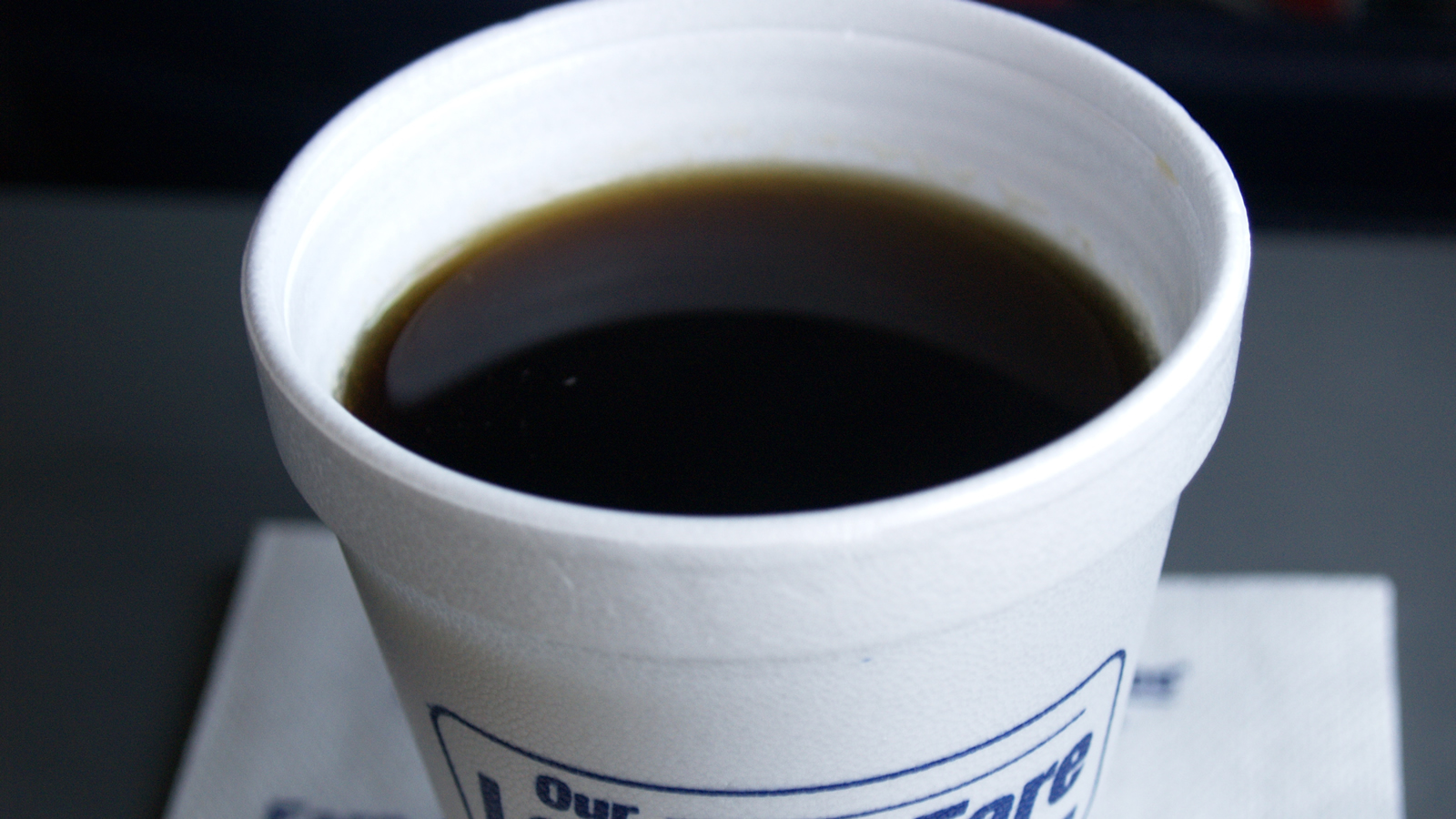 <h4>It's made with harmful chemicals</h4><p>Polystyrene is made using synthetic chemicals, which may leach out if they come in contact with hot, greasy or acidic food. Yes, they keep your coffee hot — but they may also add an unwanted dose of toxins to your drink.</p><em>cyclonebill, CC-BY-SA-2.0</em>